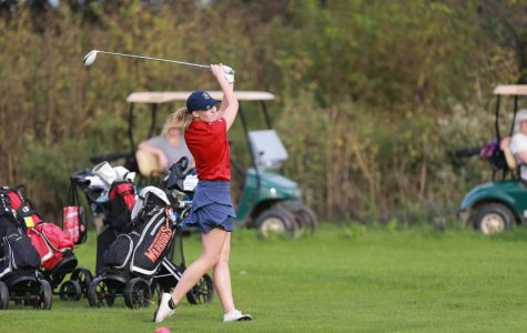 Girls Golf MVP Audrey Mazur- October 2019