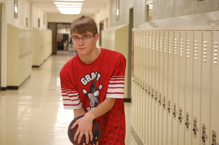 Focus and finger placement is key to success for Ian and the bulldogs.
