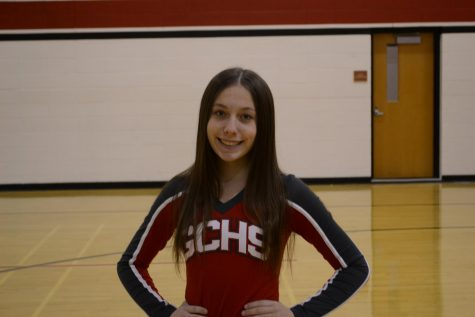 Cheerleading MVP Brooke Hurley-October 2019