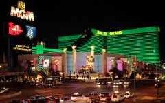 The MGM Grand has proposed a plan to host the NBA and finish the rest of the season.